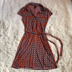 Rétro Midi Dress